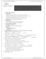 HOA - GA Văn 6 ( tuần 13-14-15)