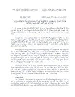 Chỉ thị 06/BCT về học tập và làm theo tấm gương đạo đức Hồ Chí Minh