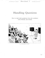 Presenting In English - Handling questions
