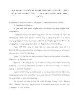 THỰC TRẠNG TỔ CHỨC KẾ TOÁN CHI PHÍ SẢN XUẤT VÀ TÍNH GIÁ THÀNH SẢN PHẨM Ở CÔNG TY XÂY DỰNG VÀ PHÁT TRIỂN NÔNG THÔN 2