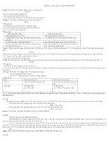 tổng hợp lý thuyết bồi dưỡng HSG sinh học 9