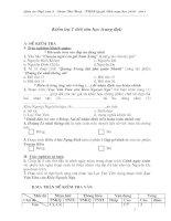 Tiet 48 - Kiểm tra truyện trung đại (đề chẵn)