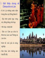 vương quốc lào và vương quốc campuchia