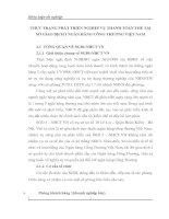 THỰC TRẠNG PHÁT TRIỂN NGHIỆP VỤ THANH TOÁN THẺ TẠI SỞ GIAO DỊCH I NGÂN HÀNG CÔNG THƯƠNG VIỆT NAM