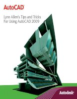 Autocad 2009 Tips and Tricks
