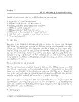 Chương 7 XỬ LÝ NGOẠI LỆ (Exception Handling)
