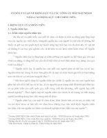 CƠ SỞ LÝ LUẬN VỀ ĐỘNG LỰC VÀ CÁC CÔNG CỤ ĐÃI NGỘ NHẰM NÂNG CAO ĐỘNG LỰC CHO NHÂN VIÊN