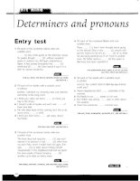 Grammar and Vocabulary for Cambridge Advanced and Proficiency - Determaners and pronouns