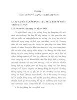 tổng quan về các giao thức báo hiệu và điều khiển, chương 1