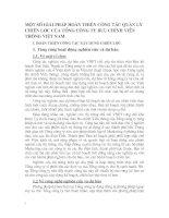 MỘT SỐ GIẢI PHÁP HOÀN THIỆN CÔNG TÁC QUẢN LÝ CHIẾN LƯỢC CỦA TỔNG CÔNG TY BƯU CHÍNH VIỄN THÔNG VIỆT NAM