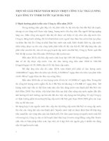 MỘT SỐ GIẢI PHÁP NHẰM HOÀN THIỆN CÔNG TÁC TRẢ LƯƠNG TẠI CÔNG TY TNHH NƯỚC SẠCH HÀ NỘI