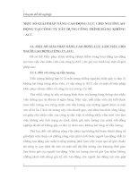 MỘT SỐ GIẢI PHÁP NÂNG CAO ĐỘNG LỰC CHO NGƯỜI LAO ĐỘNG TẠI CÔNG TY XÂY DỰNG CÔNG TRÌNH HÀNG KHÔNG - ACC