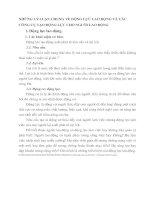 NHỮNG LÝ LUẬN CHUNG VỀ ĐỘNG LỰC LAO ĐỘNG VÀ CÁC CÔNG CỤ TẠO ĐỘNG LỰC CHO NGUỜI LAO ĐỘNG