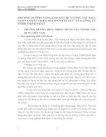 PHƯƠNG HƯỚNG NÂNG CAO KẾT QUẢ CÔNG TÁC ĐÀO TẠO VÀ PHÁT TRIỂN NGUỒN NHÂN LỰC  CỦA CÔNG TY TNHH THỊNH PHÁT