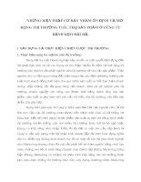 NHỮNG BIỆN PHÁP CƠ BẢN NHẰM ỔN ĐỊNH VÀ MỞ RỘNG THỊ TRƯỜNG TIÊU THỤ SẢN PHẨM Ở CÔNG TY BÁNH KẸO HẢI HÀ