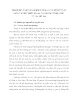 THÀNH TỰU VÀ KINH NGHIỆM BƯỚC ĐẦU CỦA ĐẢNG VỀ XÂY DỰNG VÀ PHÁT TRIỂN THÀNH PHẦN KINH TẾ NHÀ NƯỚC
