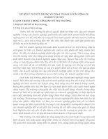 CƠ SỞ LÝ THUYẾT CHUNG VỀ CẠNH TRANH VÀ CÁC CÔNG CỤ MARKETING MIX
