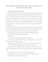 PHÂN TÍCH QUÁ TRÌNH TỔ CHỨC THỰC HIỆN CƠ CHẾ MỘT CỬA Ở UBND HUYỆN ĐÔNG ANH
