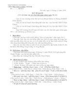 KẾ HOẠCH TRÒ CHƠI DÂN GIAN 20-11