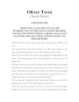 LUYỆN ĐỌC TIẾNG ANH QUA TÁC PHẨM VĂN HỌC-Oliver Twist -Charles Dickens -CHAPTER 13