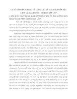 CƠ SỞ LÍ LUẬN  CHUNG VỀ CÔNG TÁC KẾ TOÁN NGUYÊN VẬT LIỆU TẠI CÁC DOANH NGHIỆP XÂY LẮP