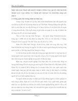 MỘT SỐ GIẢI PHÁP ĐỂ HOÀN THIỆN CÔNG TÁC QUẢN TRỊ NGUỒN NHÂN LỰC TẠI CÔNG TY TNHH KỸ THUẬT VÀ THƯƠNG MẠI AN PHÚC