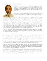 Tiểu sử Chủ tịch Hồ Chí Minh (1890 - 1969)