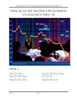 Tổng quan thị trường chứng khoán và giao dịch thực tế