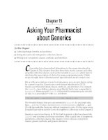 Asking Your Pharmacist about Generics