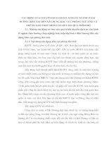 TÁC ĐỘNG CỦA CHUYỂN DỊCH CƠ CẤU KINH TẾ NGÀNH Ở HẢI DƯƠNG HIỆN NAY ĐẾN XÂY DỰNG KHU VỰC PHÒNG THỦ TỈNH VÀ NHỮNG GIẢI PHÁP NHẰN GẮN KẾT HAI QUÁ TRÌNH ĐÓ