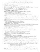 câu hỏi và bài tập lí 10 ôn kì I