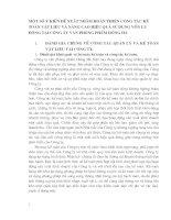 MỘT SỐ Ý KIẾN ĐỀ XUẤT NHẰM HOÀN THIỆN CÔNG TÁC KẾ TOÁN VẬT LIỆU VÀ NÂNG CAO HIỆU QUẢ SỬ DỤNG VỐN LƯU ĐỘNG TẠI CÔNG TY VĂN PHÒNG PHẨM HỒNG HÀ