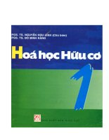 GIAO TRINH HOA HUU CO TAP 1 RANG