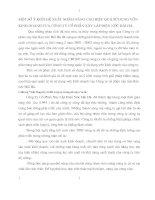 MỘT SỐ Ý KIẾN ĐỀ XUẤT NHẰM NÂNG CAO HIỆU QUẢ SỬ DỤNG VỐN KINH DOANH CỦA CÔNG TY CỔ PHẦN XÂY LẮP ĐIỆN NƯỚC HẢI HÀ.
