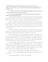 TÌNH HÌNH HOẠT ĐÔNG KINH DOANH VÀ THỰC HIỆN LỢI NHUẬN CỦA CÔNG TY CỔ PHẦN XÂY DỰNG CÔNG TRÌNH GIAO THÔNG 118