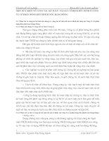 MỘT SỐ Ý KIẾN VỀ CÔNG TÁC KẾ TOÁN  TÀI SẢN CỐ ĐỊNH HỮU HÌNH Ở CÔNG TY CỔ PHẦN BÓNG ĐÈN PHÍCH NƯỚC RẠNG ĐÔNG
