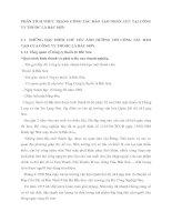 PHÂN TÍCH THỰC TRẠNG CÔNG TÁC ĐÀO TẠO NHÂN LỰC TẠI CÔNG TY THUỐC LÁ BẮC SƠN