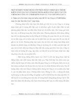 MỘT SỐ KIẾN NGHỊ NHẰM GÓP PHẦN HOÀN THIỆN QUY TRÌNH KIỂM TOÁN TÀI SẢN CỐ ĐỊNH TRONG KIỂM TÓAN BÁO CÁO TÀI CHÍNH DO CÔNG TY TNHH KIỂM TOÁN TƯ VẤN THỦ ĐÔ
