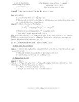 ĐỀ KIỂM TRA ĐẠI SỐ 11 CHƯƠNG 2(hot)