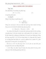 Bài thí nghiệm hóa lý (kết quả thí nghiệm ở trang thứ 10 nhé)