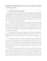 ĐẶC ĐIỂM SẢN PHẨM TỔ CHỨC SẢN XUẤT VÀ QUẢN LÝ CHI PHÍ TẠI CÔNG TY HUD1