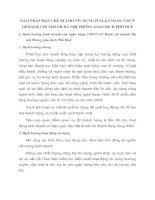 GIẢI PHÁP HẠN CHẾ RỦI RO TÍN DỤNG Ở NGÂN HÀNG TMCP GP BANK CHI NHÁNH HÀ NỘI PHÒNG GIAO DỊCH PHỐ HUẾ