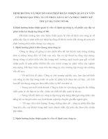 ĐỊNH HƯỚNG VÀ MỘT SỐ GIẢI PHÁP HOÀN THIỆN QUẢN LÝ VỐN CỐ ĐỊNH TẠI CÔNG TY CỔ PHẦN XÂY LẮP VÀ PHÁT TRIỂN KỸ THUẬT HẠ TẦNG SỐ 68