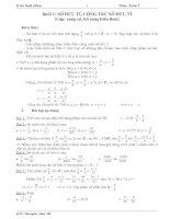 Giao án dạy thêm toán 7