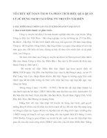 TỔ CHỨC KẾ TOÁN TSCĐ VÀ PHÂN TÍCH HIỆU QUẢ QUẢN LÝ SỬ DỤNG TSCĐ TẠI CÔNG TY TRUYỀN TẢI ĐIỆN