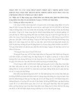 NHẬN XÉT VÀ CÁC GIẢI PHÁP HOÀN THIỆN QUY TRèNH KIỂM TOÁN KHOẢN MỤC PHẢI THU KHÁCH HÀNG TRONG KIỂM TOÁN BÁO CÁO TÀI CHÍNH DO CễNG TY TNHH AAT THỰC HIỆN