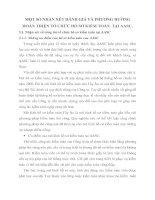MỘT SỐ NHẬN XÉT ĐÁNH GIÁ VÀ PHƯƠNG HƯỚNG HOÀN THIỆN TỔ CHỨC HỒ SƠ KIỂM TOÁN  TẠI AASC