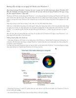 Hướng dẫn cài đặt và sử dụng XP Mode trên Windows 7