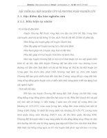 ĐẶC ĐIỂM ĐỊA BÀN NGHIÊN CỨU VÀ PHƯƠNG PHÁP NGHIÊN CỨU