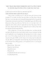 THỰC TRẠNG HOẠT ĐỘNG MARKETING MIX CỦA CÔNG TY DỊCH VỤ THƯƠNG MẠI SỐ 1TỔNG CÔNG TY DỆT MAY VIỆT NAM